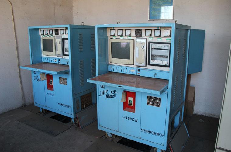Heat-treatment-furnace-console