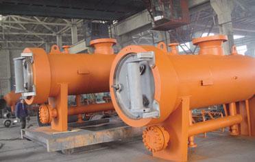 西气东输天然气管道项目过滤分离器