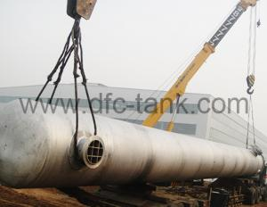 Nitrogen stainless steel storage tanks