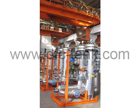 Test and Product Separator
