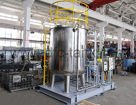 Chemical Injection Skids for Well Head